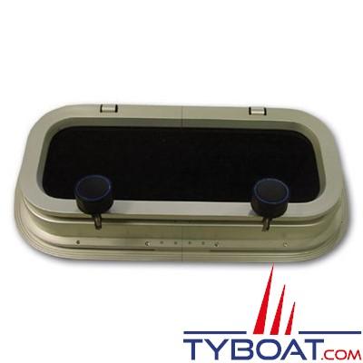 Gebo - Hublot standard rectangulaire ouvrant 375x175