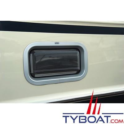 GEBO - Pare-pluie pour hublots standards rectangulaire 375x175