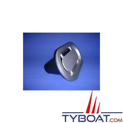 Gebo - ventilation moteur - montage sandwich - découpe 600x175 - aluminium