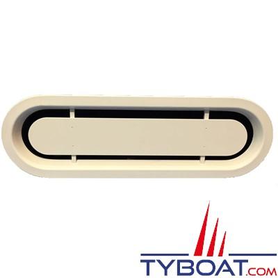 Gebo - ventilation moteur - montage sandwich - découpe 600x175 - blanc