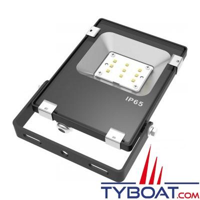 Génois - Projecteur extra plat LED IP65 - 10 Watts - 230 Vac