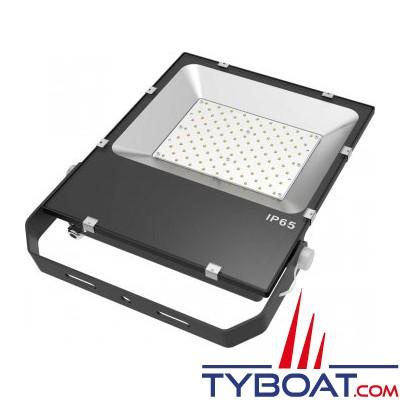 Génois - Projecteur extra plat LED IP65 - 100 Watts - 230 Vac