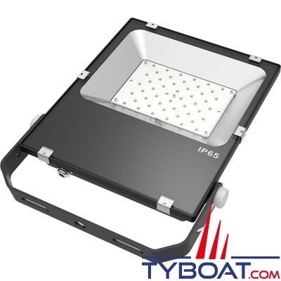 Génois - Projecteur extra plat LED IP65 - 50 Watts - 230 Volts