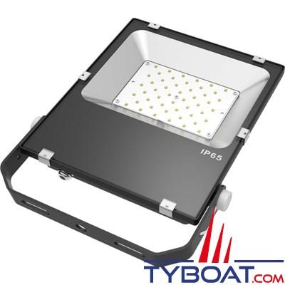 Génois - Projecteur extra plat LED IP65 - 50 Watts - 24Volts