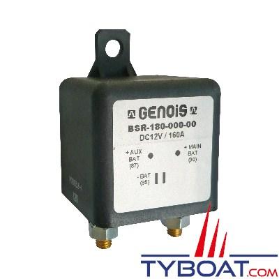 GENOIS - Séparateur de batterie 12 Volts 160 Ampères Cde +