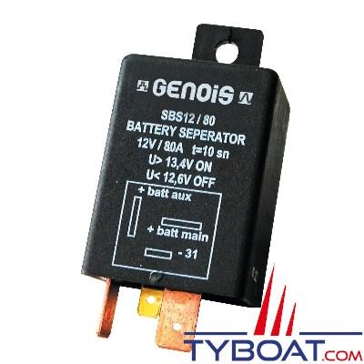 GENOIS - Séparateur de batterie 12 Volts 80 Ampères