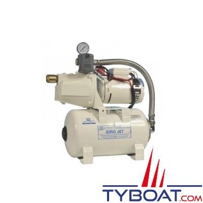 Gianneschi - Groupe d'eau EcoJet2 B - 3,5 bars/ 0,37 kW - 55 Litres/minute - réservoir 20 litres - 24 Volts