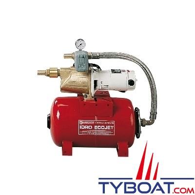 Gianneschi - Groupe d'eau EcoJet2 B - 3,5 bars/0,45 kW - 55 Litres/minute - réservoir 60 litres - 230/400 Volts