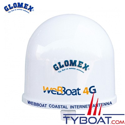 GLOMEX - Antenne 4G / Wifi weBBoat Plus - Dual sim