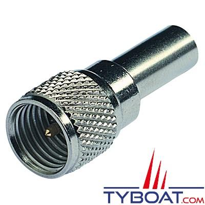 Glomex - Mini Connecteur male UHF / RG58C/U