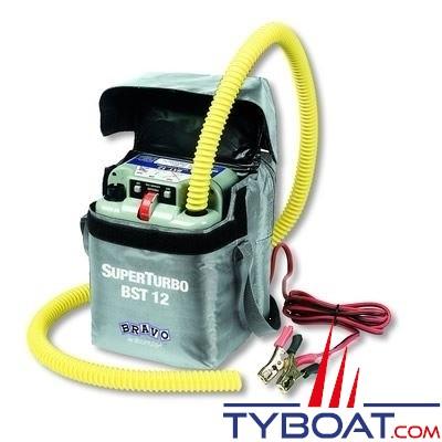 Gonfleur électrique Bravo SUPERTURBO 12 Volts 800 mbar