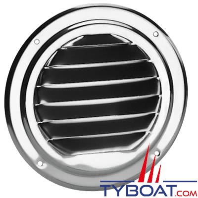 Grille de ventilation Plastimo inox 316 ronde Ø 125 mm