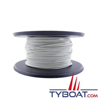 GS Marine - Sandow élastique blanc Ø 4mm - bobine 100 mètres