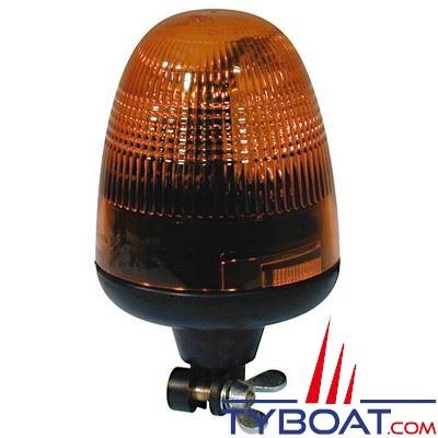 Gyrophare Rotaflex Hella Marine orange strié 12v - 5.5A