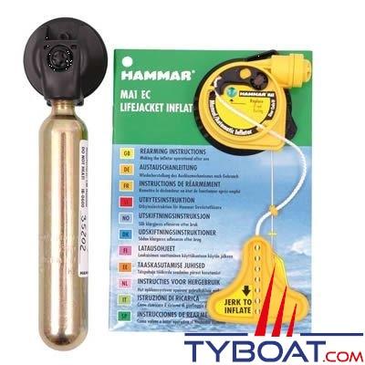 Hammar - Activateur hydrostatique Hammar MA1/EC - 150N + bouteille 33 gr