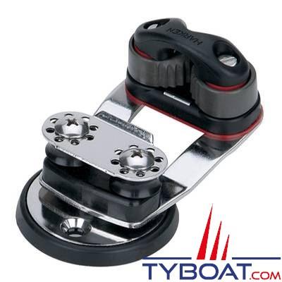 HARKEN - Tourelle Micro Cam-Matic 468 avec guide à réas 16 mm-462