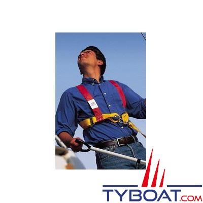 Harnais de sécurité Plastimo Réglable 1 pour adulte ceinture réglable - avec longe 2 mousquetons