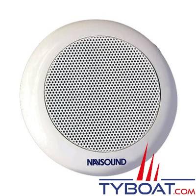 Haut-parleurs Navsound Chorus 60W encastrable - Ø 145mm - IPX7 - blanc (la paire)