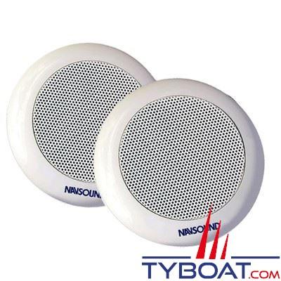 NAVSOUND - Haut-parleurs étanche Fugue - 70 Watts Ø 165mm - IPX7 - blanc (la paire)