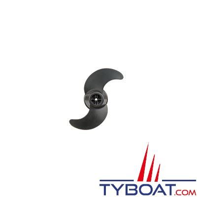 Hélice Motorguide Safari - noire - 2 pâles