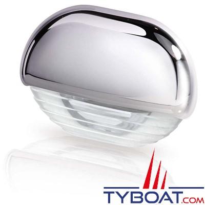 Hella - Easy Fite - éclairage de courtoisie Led ou pour marche Habillage Chrome, lumière blanche