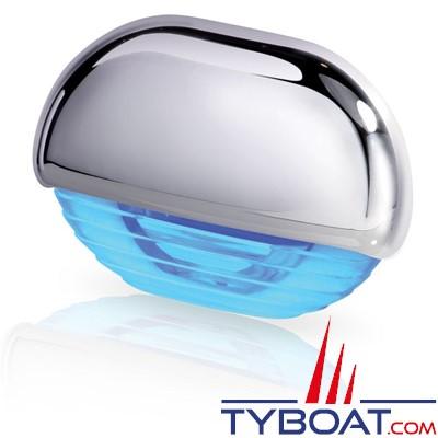 Hella - Easy Fite - éclairage de courtoisie Led ou pour marche Habillage Chrome, lumière bleue