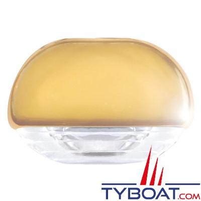 Hella - Easy Fite - éclairage de courtoisie Led ou pour marche Habillage doré, lumière blanche