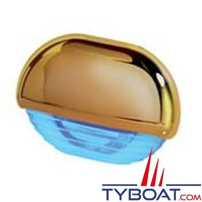 Hella - Easy Fite - éclairage de courtoisie Led ou pour marche Habillage doré, lumière bleue