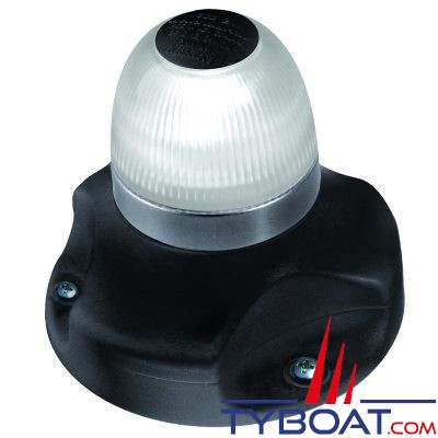 Hella Marine NaviLED 360 - feu blanc 2 NM visible sur tout l'horizon - noir