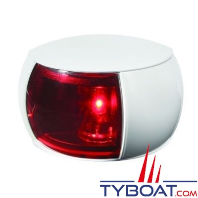 Hella Marine Naviled Compact - Feu de navigation blanc babord (rouge) à Led 8 à 28 Volts.