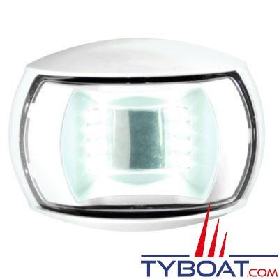 Hella Marine Naviled Compact - Feu de navigation blanc poupe (blanc) à Led 8 à 28 Volts