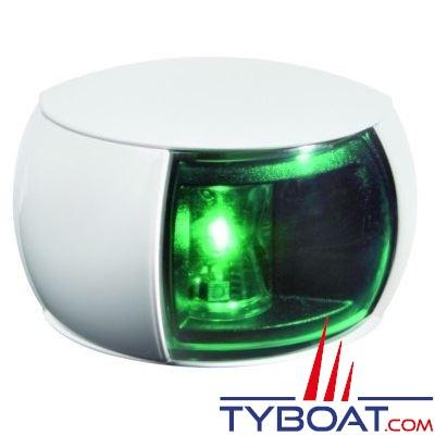 Hella Marine Naviled Compact - Feu de navigation blanc tribord (vert) à Led 8 à 28 Volts