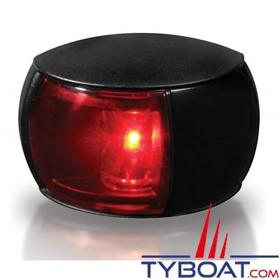 Hella Marine Naviled Compact - Feu de navigation  noir babord (rouge) à Led 8 à 28 Volts.