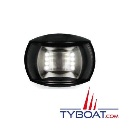 Hella Marine Naviled Compact - Feu de navigation noir poupe (blanc) à Led 8 à 28 Volts