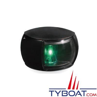 Hella Marine Naviled Compact - Feu de navigation noir tribord (vert) à Led 8 à 28 Volts