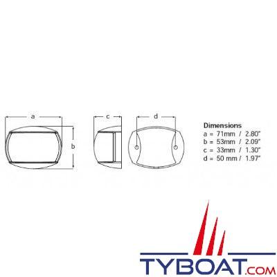 hella marine naviled compact kit feux de navigation. Black Bedroom Furniture Sets. Home Design Ideas