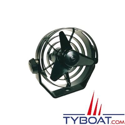HELLA MARINE - Ventilateur noir turbo 2 vitesses 24V