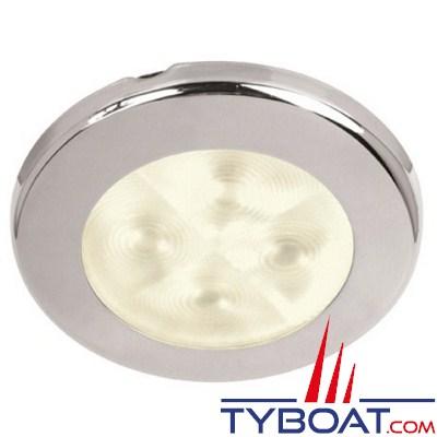 HELLA - Plafonnier à LED encastré 12 Volts DC - Faisceau lumineux Spot
