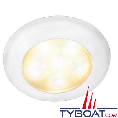HELLA - Plafonnier à LED encastré 12 Volts DC - faisceau lumineux Ambiance