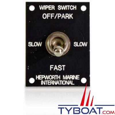 Hepworth  - Interrupteur à bascule 12/24 Volts - Commande Essuie-Glace