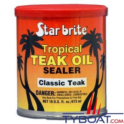 Huile de teck tropicale Star Brite Classic Teak 473 ml