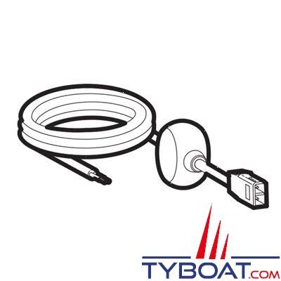 Humminbird - Cordon d'alimentation PC-11 Série 800/900/1100