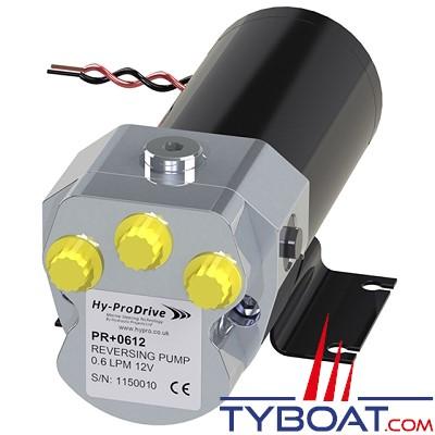 Hy-ProDrive - Pompe hydraulique réversible PR+06 12 - 12 Volts - 0,6 Litre/Minute