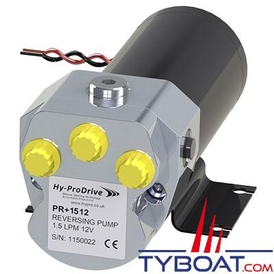 Hy-ProDrive - Pompe hydraulique réversible PR+15 24 - 24 Volts - 1,5 Litres/Minute