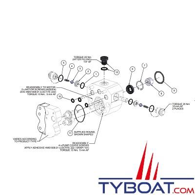 Hy-ProDrive - Kit maintenance pour pompes séries PR+