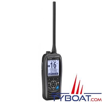 Icom - VHF Portative Marine IC-M93D - Gps intégré - 5 Watts - Etanche - Flottante