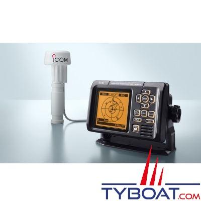 Pack Émetteur-récepteur AIS Icom MA-500TR Classe B NMEA0183 avec antenne récepteur GPS MXG-5000S