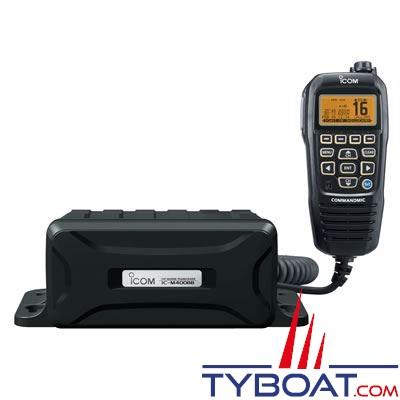 VHF marine fixe Icom IC-M400BB Classe D avec ASN IPX7 noire