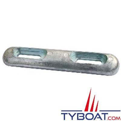 Anode à boulonner magnésium 320mm x 65mm