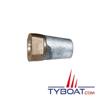 IMNASA - Écrou anodique - Pas gauche - type Sole -  pour arbre d'hélice Ø 30mm
